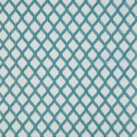 Mosaic Fabric - Duck Egg