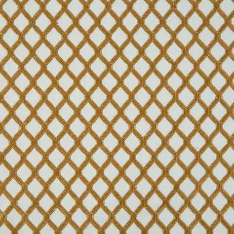 Bill Beaumont Marrakech Fabrics Mosaic Fabric - Gold - MOSAICGOLD