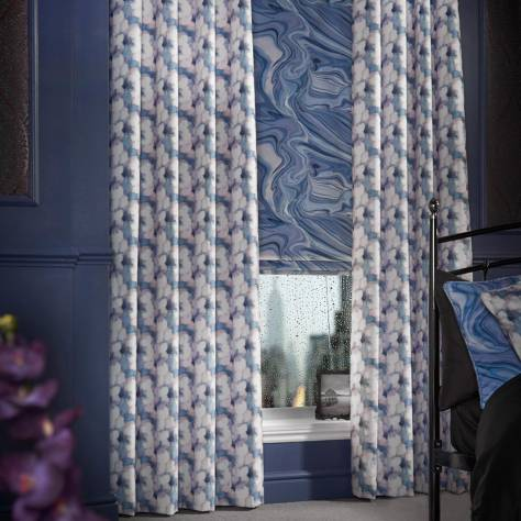 Bill Beaumont Mystery Fabrics Intrigue Fabric - Violet - INTRIGUEVIOLET