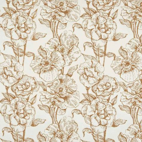Bill Beaumont Amour Fabrics Bouquet Fabric - Copper - BOUQUETCOPPER