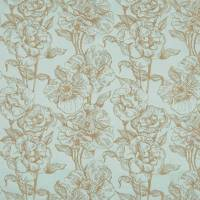 Bouquet Fabric - Duck Egg