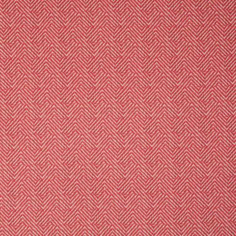 Bill Beaumont Andalucia Fabrics Malaga Fabric - Coral Red - MALAGACORALRED