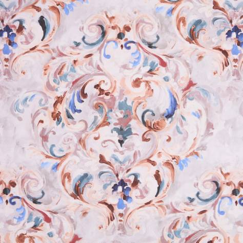 Bill Beaumont Honesty Fabrics Belief Fabric - Peach Blush - BELIEFPEACHBLUSH
