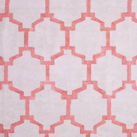 Bill Beaumont Honesty Fabrics Truth Fabric - Coral - TRUTHCORAL