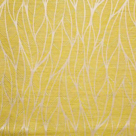 Bill Beaumont Vogue Fabrics Cara Fabric - Lemon - CARALEMON