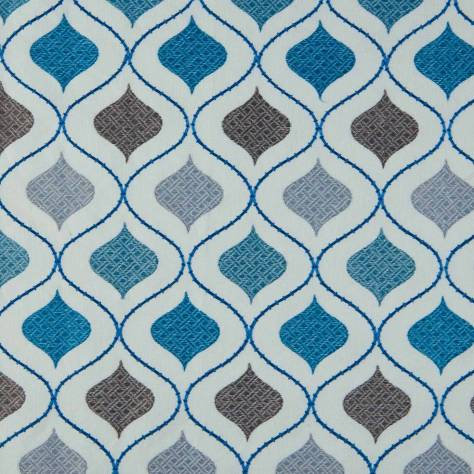 Bill Beaumont Monarchy Fabrics Windsor Fabric - Aqua - WINDSORAQUA