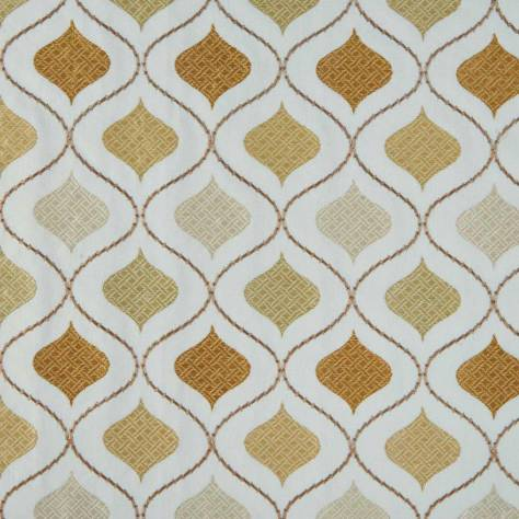 Bill Beaumont Monarchy Fabrics Windsor Fabric - Gold - WINDSORGOLD - Image 1