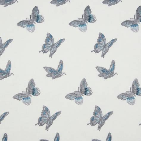Bill Beaumont Bohemia Fabrics Flutter Fabric - Denim - FLUTTERDENIM