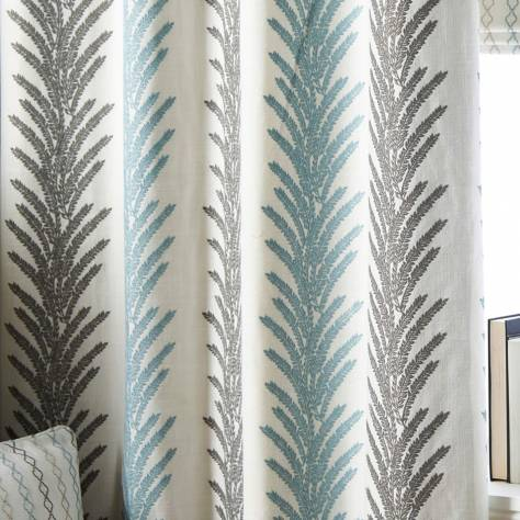 Bill Beaumont Bohemia Fabrics Liberty Fabric - Smoke - LIBERTYSMOKE