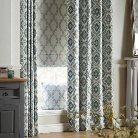 Bill Beaumont Bohemia Fabrics Silesia Fabric - Denim - SILESIADENIM