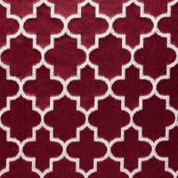 Bouchra Fabric - Ruby