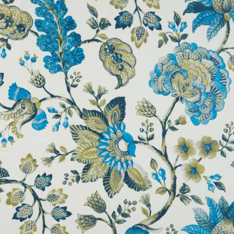 Bill Beaumont Carnival Fabrics Fiesta Fabric - Teal - FIESTATEAL