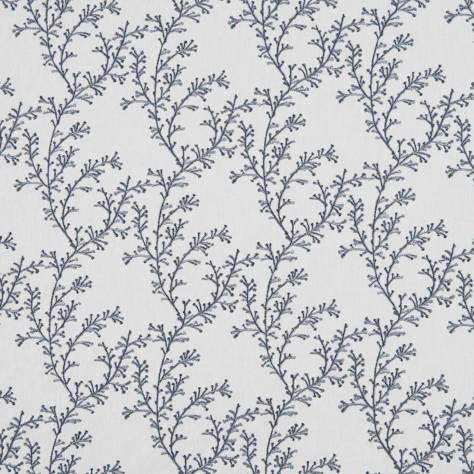 Bill Beaumont Hideaway Fabrics Nestle Fabric - Denim - NESTLEDENIM