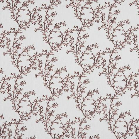 Bill Beaumont Hideaway Fabrics Nestle Fabric - Maroon Blush - NESTLEMAROONBLUSH