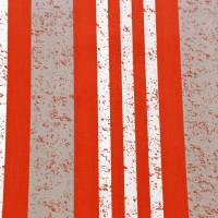 Rayure Manhattan Fabric - Red