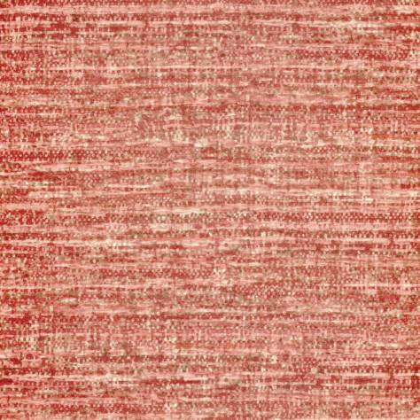 Casamance  Bassano Fabrics Camee Fabric - Obsolete Red - 36540473