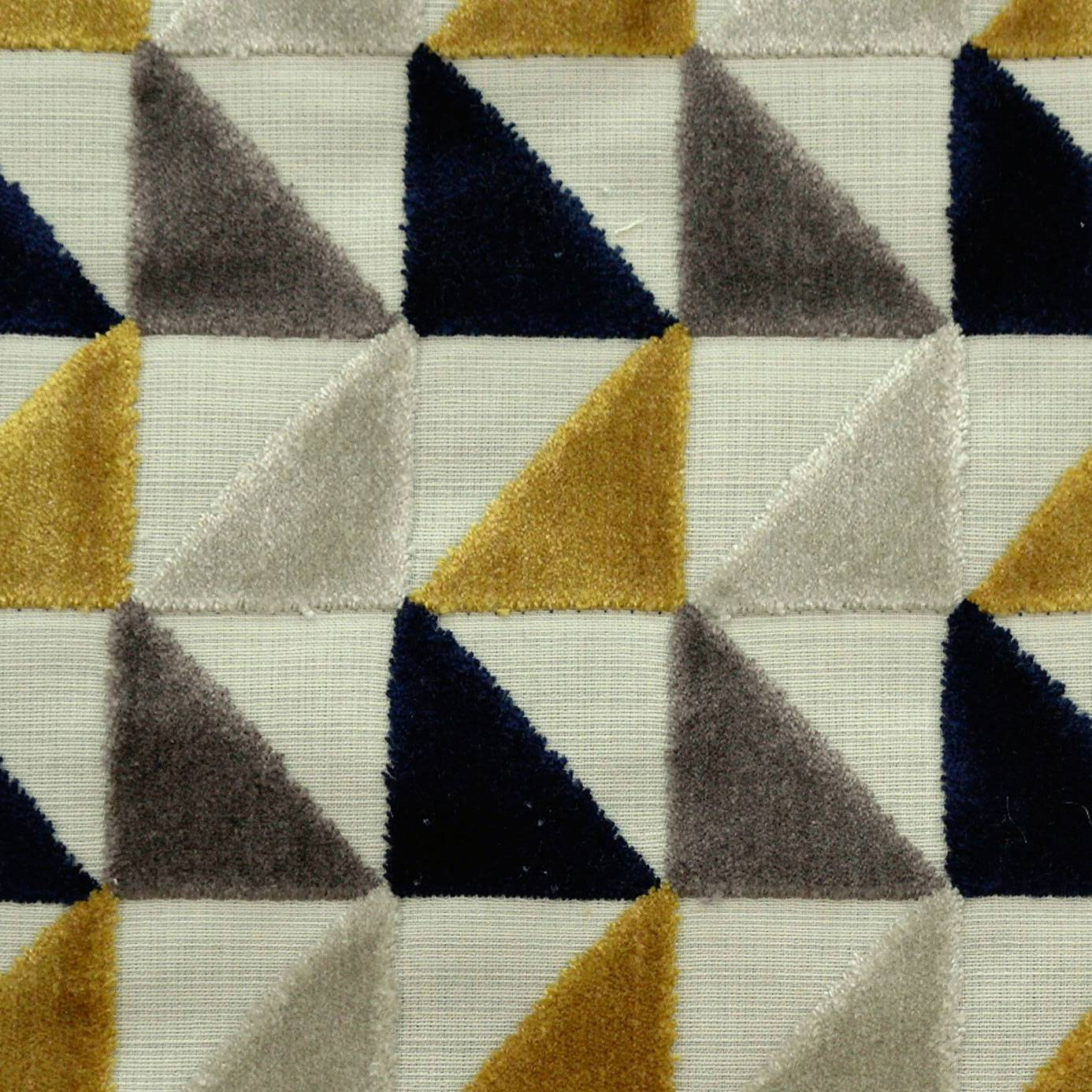Virtuose fabric jaune moutarde 36570336 casamance opus fabrics collection - Jaune moutarde decor ...