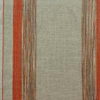 Presage Fabric - Flax/Orange