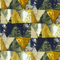 Private Fabric - Royal Blue/Gold