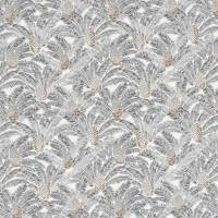 Pigna Fabric - Petal White / Steel