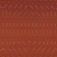 Pyramid Fabric - Burnt Orange