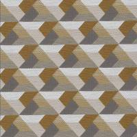 Ragtime Fabric - Blanc Petale / Beige Taupe