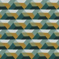 Ragtime Fabric - Caribbean / English Green