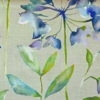 Clovelly Fabric - Bluebell