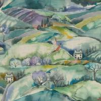 Ambleside Fabric - Teal