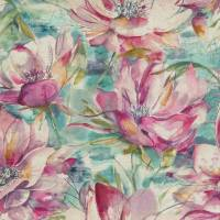 Dusky Blooms Fabric - Sweetpea