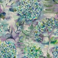 Flourish Fabric - Teal