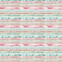 Carnival Stripe Fabric - Dusk