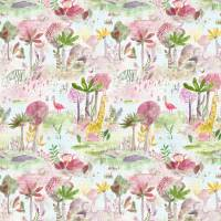 Jungle Fun Fabric - Dusk