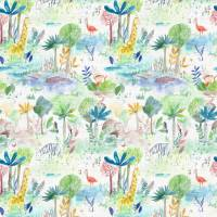 Jungle Fun Fabric - Primary