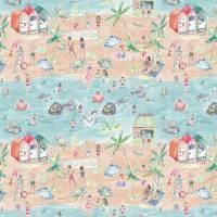 Let's Go To The Beach Fabric - Sand