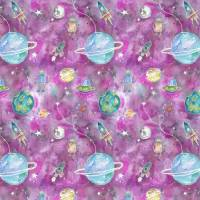 Out Of This World Fabric - Blossom
