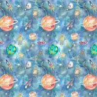 Out Of This World Fabric - Sky