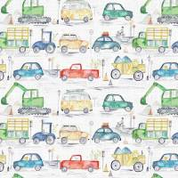 Traffic Jam Fabric - Primary
