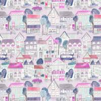 Village Streets Fabric - Blossom