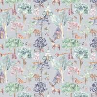 Woodland Adventures Fabric - Lilac