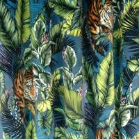 Bengal Tiger Fabric - Twilight