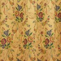 Bouquet Fabric - Gold