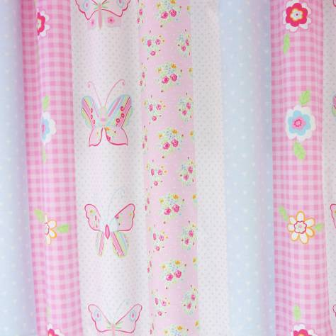 OUTLET SALES All Fabric Categories Butterfly Fabric - Pink - BUT001