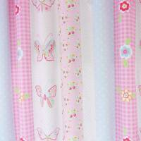Butterfly Fabric - Pink