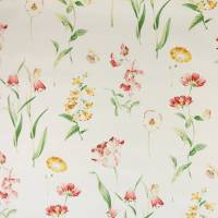 Butterfly Garden Fabric - Ivory/Terracotta