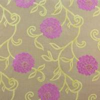 Charlotte Fabric - Pink/Lime