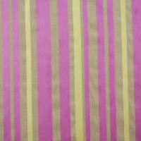 Charlotte Stripe Fabric - Pink/Lime