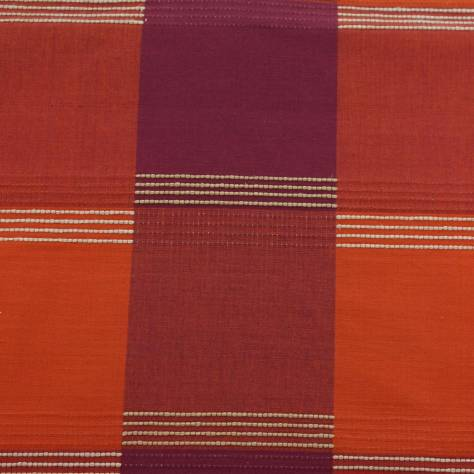 OUTLET SALES All Fabric Categories Check Fabric - Terracotta - CHE004