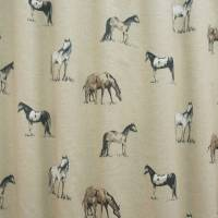 Clarke and Clarke Chevaux Fabric - Horse