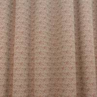 Eccleston FR Fabric - Claret / Beige